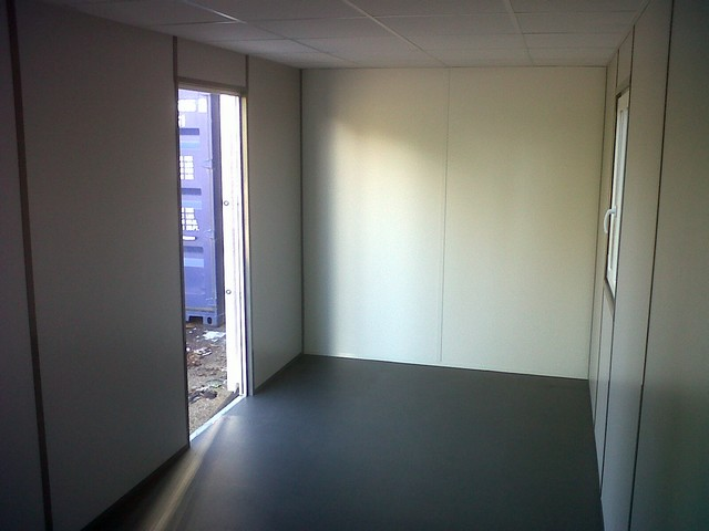 Am nagement conteneur bureau container am nag en for Amenagement conteneur